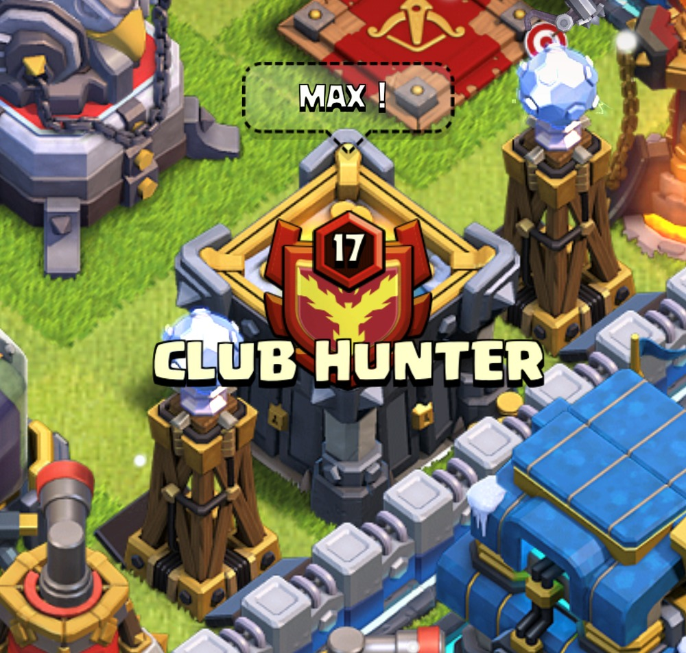 CLUB HUNTER