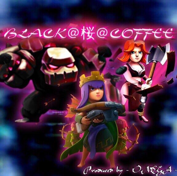 BLACK@桜@COFFEE