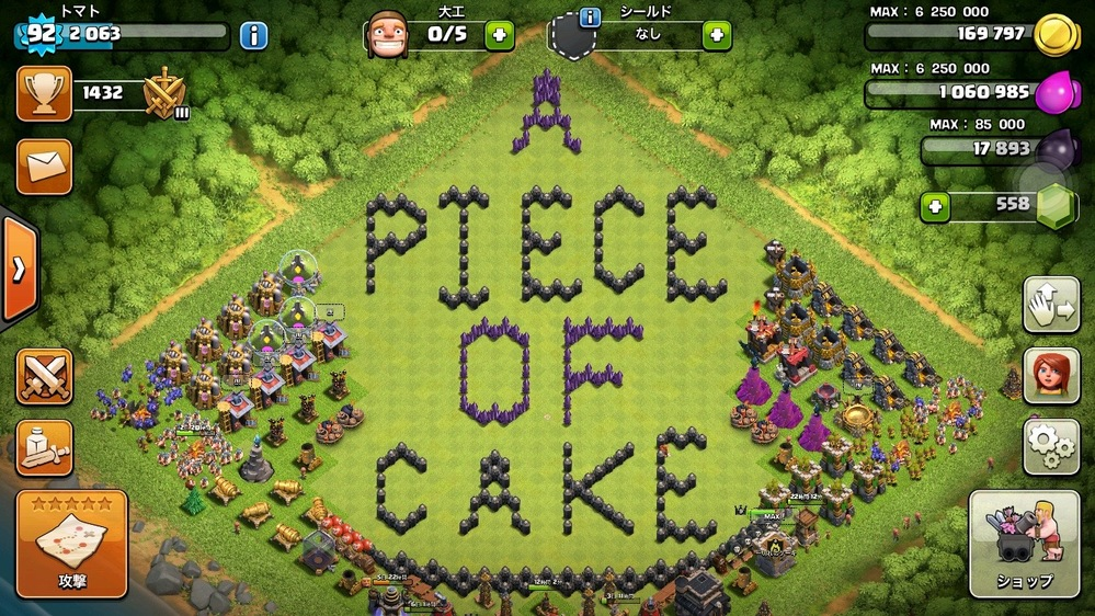 一切れのケーキ プロフ画像